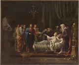 Sketch for the Saint-Nicolas-du-Chardonnet church: Jesus resuscitating the daughter of Jairus