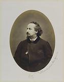 Self-portrait of Etienne Carjat