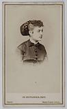 Portrait of Delphine de Lissy or Lizy (actress)