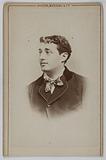 Portrait of Paul Mussay, actor at the Théâtre des Variétés in 1872 and director of the Palais-Royal theatre