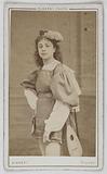 Portrait of Normann, actress at the Théâtre des Folies-Bergère