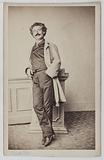 Portrait of Théophile Penot, known as Théophile Omer, stage manager of the Odeon and theatre actor
