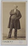 Portrait of Jean-Baptiste François Provost, stage actor between 1820 and 1864