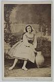 Portrait of Rameau, actress at the Théâtre des Délassements Comiques