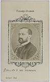 Portrait of Viscount Pierre Alexis de Ponson du Terrail (novelist)