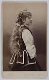 Portrait of Suzanne Reichenberg, Baronne de Bourgoing, stage actress