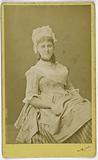 Portrait of Miss de Salle (actress)