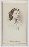 Portrait of Mademoiselle Goret, known as Mademoiselle Silly, sister of Delval and actress at the Théâtre des Variétés …