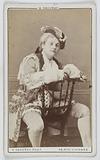 Portrait of Madame Soll, actress and dancer at the Théâtre des Folies-Bergère