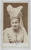 Portrait of Sylvana, actress in 1872