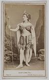 Portrait of Hélène Verdier, actress at the Théâtre de la Gaîté in 1867, at the Théâtre de la Porte Saint-Martin and at …