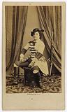 Portrait of Delphine Ugalde (née Gabrielle Delphine Elisabeth Beaucé, wife Ugalde, then Varcollier), lyric singer, …