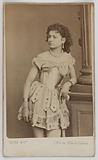 Portrait of Miss Zoé, actress at the Théâtre des Folies-Bergère