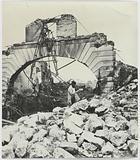 Docks de la Villette burned down, swing bridge, 19th arrondissement, Paris