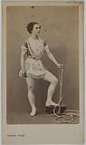 Portrait of Azella (trapeze artist)