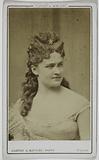 Portrait of Angèle (actress)