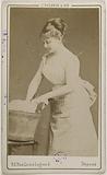 Portrait of Beaumaine (or Baumaine), Juliette (dancer)