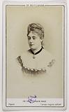 Portrait of Valentine Biron (actress at the Palais Royal and the Théâtre des Nouvelles)