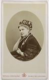 Portrait of Wanda de Bogdani, 1851–1888, opera singer