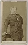 Portrait of Daubray (Michel René Thibaut) (comic at the Palais-Royal theatre)