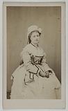Portrait of Deschamps Rose (née Céleste Rose Beauregard) (Actress)