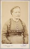 Portrait of Désirée (Dumont?), Taken at the Chantiers prison in Versailles. Paris Commune, 1871.
