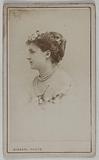 Portrait of Desmonts Caroline Alexandrine (née Saint Albin) (actress)