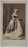 Portrait of Doche Eugénie (née Marie-Charlotte-Eugénie de Plunkett, known as) (actress)