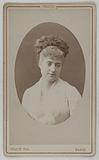 Portrait of Donvé Marguerite (née Marguerite Dumont) (actress)