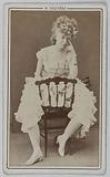 Portrait of Evans Jeanne (actress)