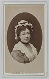 Portrait of Fargueil Anaïs (actress)
