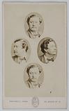 Mosaic portrait of Fechter Charles Albert (actor)