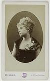 Portrait of Mademoiselle Gilles or Giesz (actress)