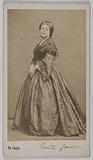 Portrait of Wanda of the Grand Duchess (Emilie Garait, known as) (actress)