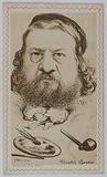 Caricature of Théophile Gautier (writer, poet)