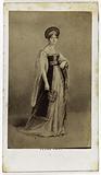 Portrait of Anne FH Boutet Morva, known as Mademoiselle Mars, actress at the Comédie-Française