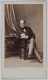 Portrait of Napoleon Joseph Hugues Maret, Duke of Bassano (Grand Chamberlain of Napoleon III, diplomat, senator)