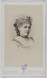 Portrait of Léontine (actress)