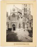 Facade of the Saint-Nicolas-des-Champs church, 3rd arrondissement, Paris