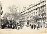 Avenue Victoria, Hôtel-de-Ville omnibus station, 4th arrondissement, Paris
