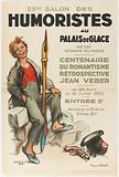23rd Salon des Humoristes at the Palais de Glace. Metro. Champs-Élysées. Centenary of Romanticism. Retrospective.