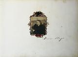 Victor Hugo in profile