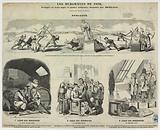 Les Burgraves from 1850, Trilogie en logis and four paintings …