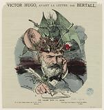 Victor Hugo, before the letter. A salad in a skull.