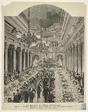 The banquet of the Hotel Continental offered to Victor Hugo on the occasion of his 81st birthday