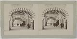 Universal Exhibition of 1900: under the arcades of the Pavilion of Turkey, quai d'Orsay, 7th arrondissement, Paris