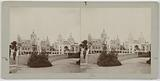 Universal Exhibition of 1900: view taken from the right bank of the pavilions of Italy, Turkey and the United States …