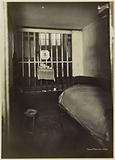 """Interior of an individual cell in the """"Ménagerie"""", Saint-Lazare prison, remand center for women, 107 rue du …"""