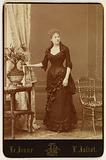 Portrait of Jeanne Julia Regnauld, known as Bartet, actress