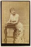 Portrait of Bonnet, actress